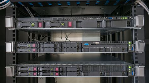 blade server rack cabinet do you setup each one server close to another or having