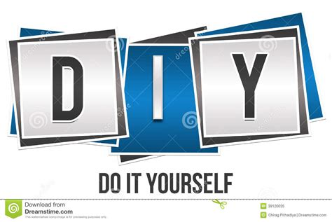 it yourself diy do it yourself stock illustration image 39120035