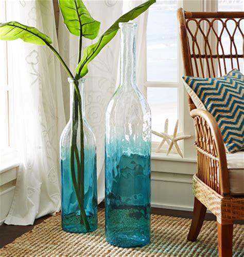 Aqua Floor Vase Aqua Ombre Floor Vase Everything Turquoise