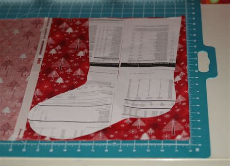 easy pattern for a christmas stocking christmas stocking tutorial fabricworm