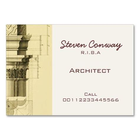architects business card template 165 best architects business cards images on