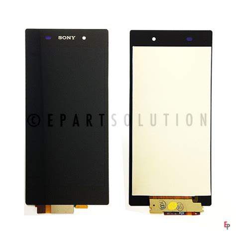 Lcd Sony Xperia Z1 C6902 Fullset Touchscreen Bazel Original sony xperia z1 c6902 lcd touchscreen assembly black epartsolution