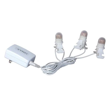 04165 lemax three led light cord adaptor 4 5v