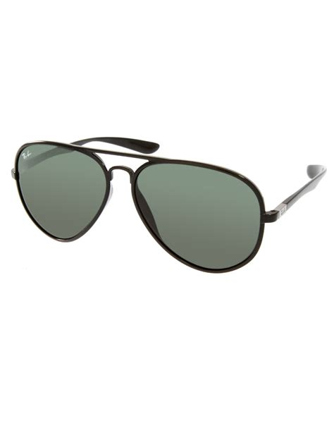 Aviator Sunglasses ban aviator sunglasses in black for lyst