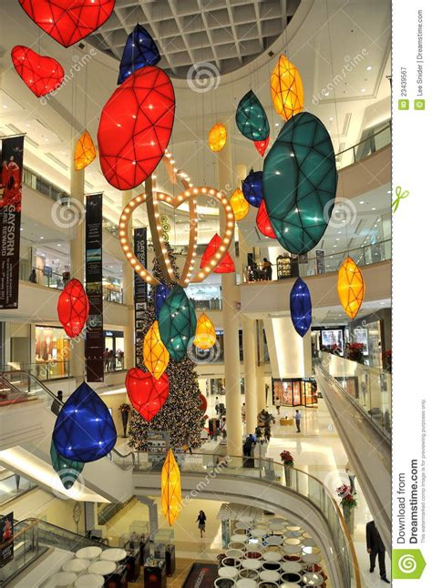 bangkok home decor shopping bangkok thailand christmas at gaysorn plaza editorial
