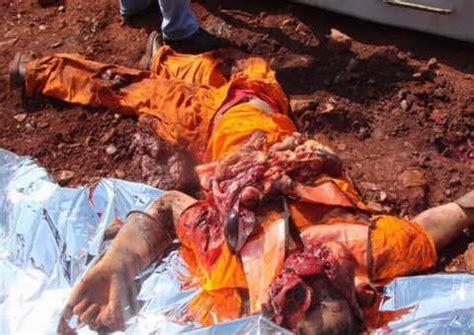 imagenes extremadamente fuertes fotos horribles de accidente minero dogguie