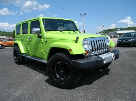 Lime Green Jeep Wrangler 2012 For Sale 17 Best Images About My List On 380 Acp
