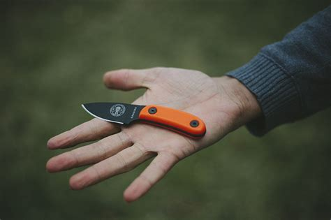 neck knives review esee candiru small outdoor edc neck knife review