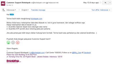 Email Cs Bukalapak | susahnya komplain ke cs bukalapak