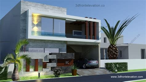 L Shaped Houses by 3d Front Elevation Com 5 Marla 10 Marla House Plan