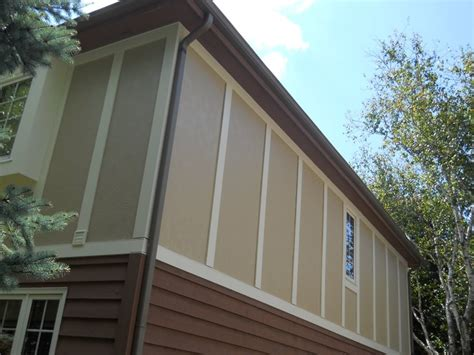 stucco masonite siding hardie stucco panels craftsman details exterior
