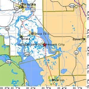 map of crescent city florida crescent city florida fl population data races