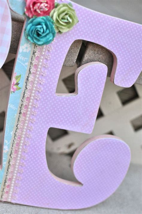 Decorating Wooden Letters For Nursery 238 Best Images About Wooden Letter Ideas On Pinterest Decorate Wooden Letters Nursery Wall