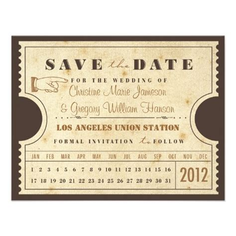 save the date ticket template 17 best images about in excellence on