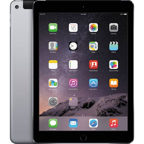 Air 128gb Wifi 4g apple 128gb air 2 wi fi 4g lte space gray mh312ll a