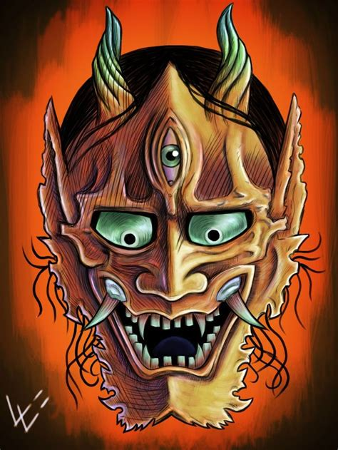 japanese hannya mask tattoo designs 17 best images about on occult