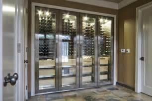 Large Liquor Cabinet Vin De Garde Custom Stainless Steel Wine Cabinet Modern