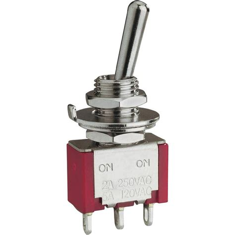 Switch Toggle toggle switch 250 vac 2 a 2 x on on eledis 1a2 from