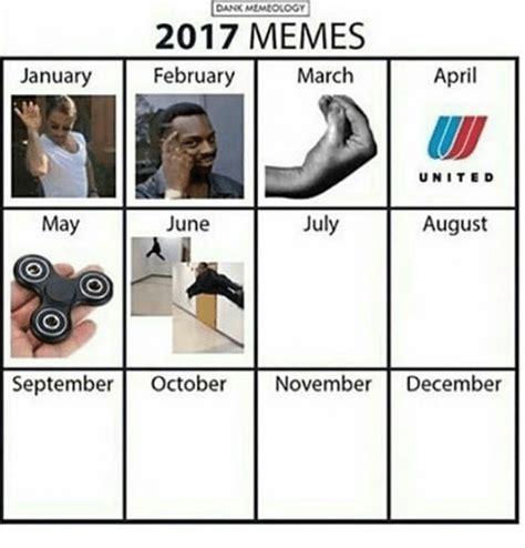 Meme Calendar 2017 - dank memeology 2017 memes february january march april