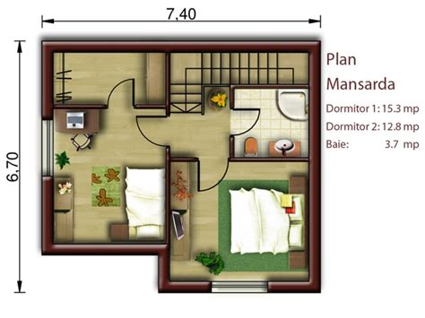 attic house plans small attic house plans