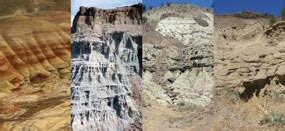 john day strata john day fossil beds national monument