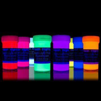 8 x 1 76 fl oz black light paints neon uv fluorescent colors blacklight 50 ml wall paint