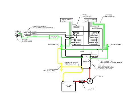 marine inverter wiring diagram xantrex wiring diagram