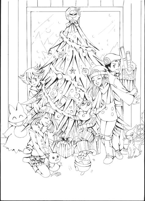 christmas coloring pages pokemon delibird images pokemon