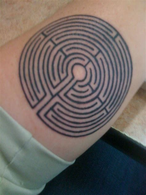 labyrinth tattoo labyrinth missional monks