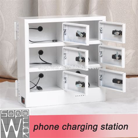 charging station box sopower charging box 6 doors industrial battery charging