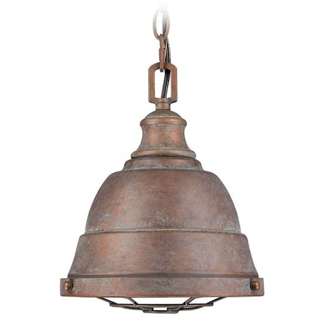Copper Mini Pendant Lights Golden Lighting Bartlett Copper Patina Mini Pendant Light 7312 S Cp Destination Lighting