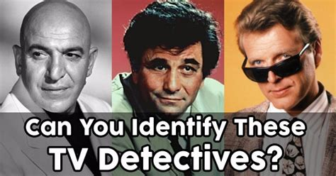 8 Top Tv Detectives by Can You Identify These Tv Detectives Quizpug