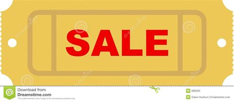 sale ticket stock photos image 686303