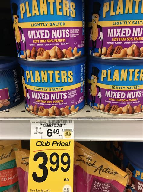 Planters Mixed Nuts Coupon by Planters Mixed Nuts Just 2 99 With Coupon Save 54