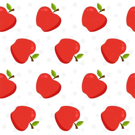 pattern apple background apple pattern background vector free download