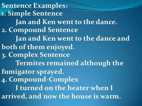 basic sentence pattern meaning sentences