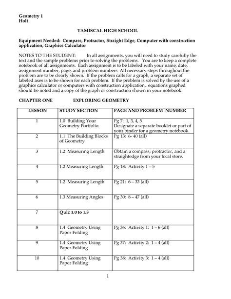 High School Geometry Worksheets by Geometry Worksheets For Highschool Students 1000 Ideas