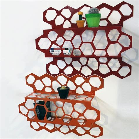 mensola libreria mensola libreria hexagon mensole complementi d arredo