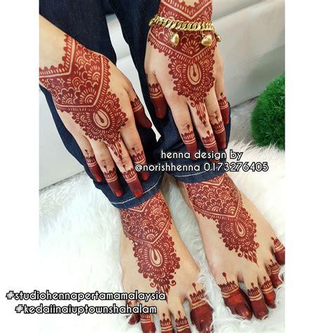 design henna untuk pengantin perkhidmatan ukiran inai pengantin