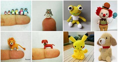 free mini diy miniature crochet animals free patterns home