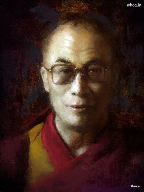 dalai  creative oil painting hd wallpaper