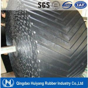 Chevron Incline by China Types Chevron Rubber Conveyor Belt For Steep