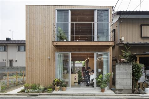 small house design ideas japan wooden box house small house in japan mixes work and