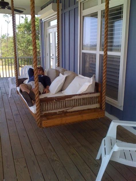 outdoor porch bed swing can this porch swing be made as a day bed
