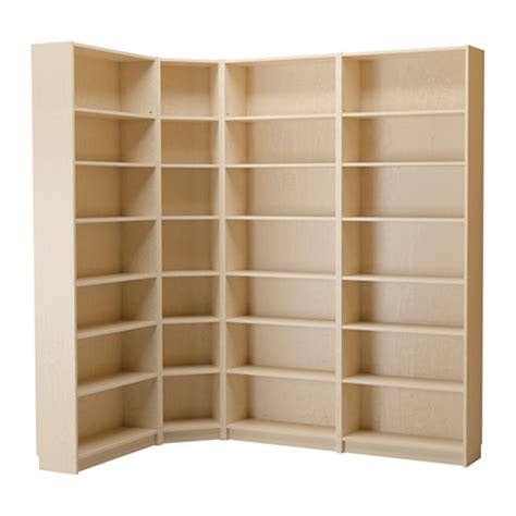 Billy Corner Bookcase Dimensions Billy Bookcase Birch Veneer Ikea