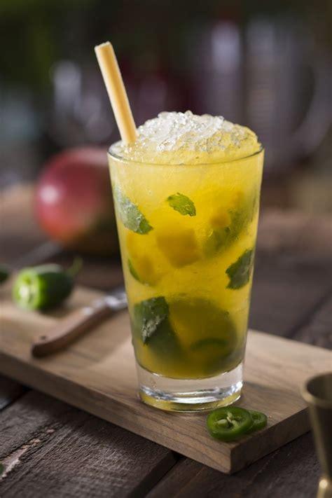 mango mojito recipe mango jalape 241 o mojito cruzan mango rum fresh jalape 241 os