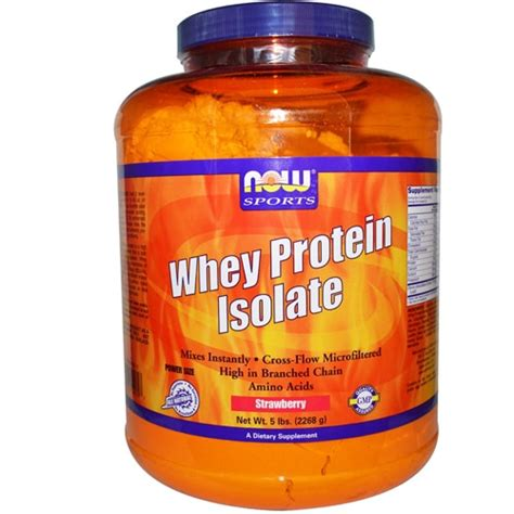 Now Whey Protein Isolate now foods whey protein isolate