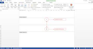 cara membuat nomor halaman karya tulis cara membuat nomor halaman berbeda dalam satu dokumen di