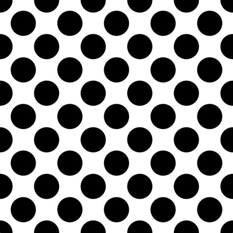 Pola Polka Dot Monochrome background dot pattern polka 183 free vector graphic on pixabay