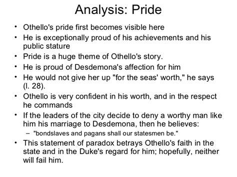 themes in othello ppt othello ppt scene by scene